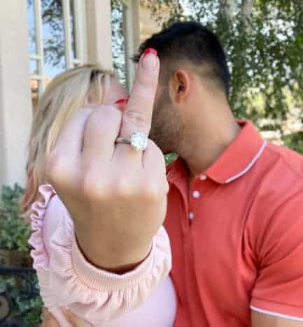 Britney Spears Engagement Ring Photo
