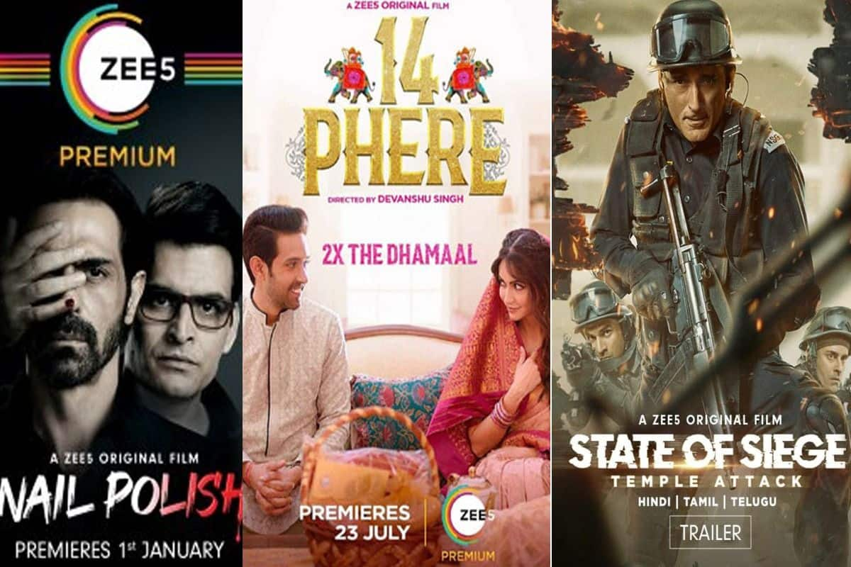 ZEE5 Originals Nail Police, 14 Phere, State Of Seige And Others Feature Amongst Best OTT Content