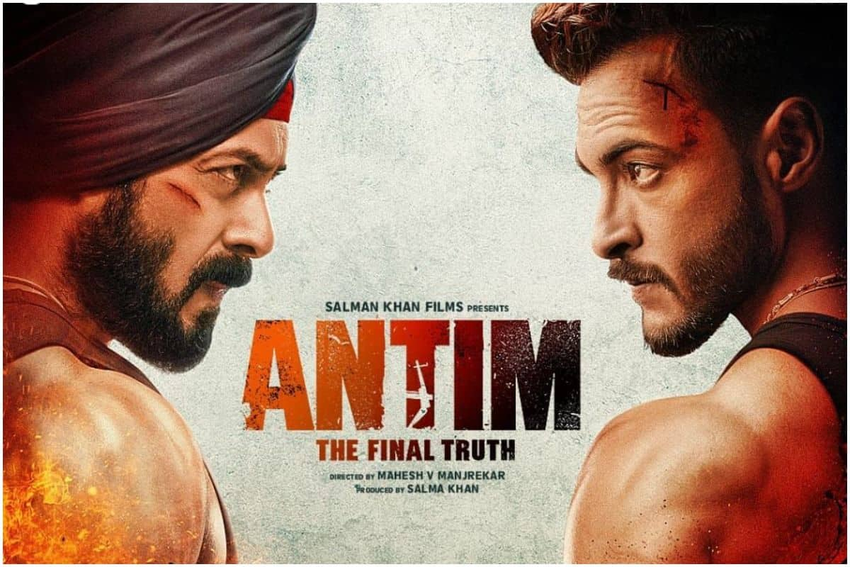 Antim First Poster: Salman Khan and Aayush Sharma Impress Everyone With Their Fierce Look, Fans Say